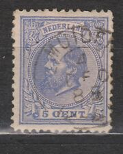 NVPH Netherlands Nederland 19 TOP CANCEL MUIDERBERG Willem III 1872