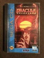 Dracula Unleashed (Sega CD, 1993) ✅CIB/Complete ✅Tested ✅Verified