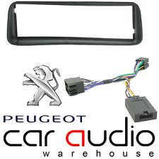 Peugeot 206 1998-2010 Car Stereo S/Din Fascia & Steering Wheel Interface CTKPE01