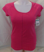 Everlast Womens Cover Stitch Tee Shirt Fuschia Large NWT 10737