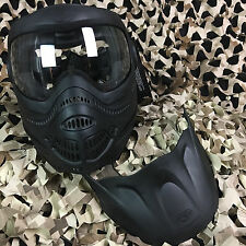 NEW Dye Proto EL Switch Anti-Fog Paintball Airsoft Goggle Mask w/ Visor - Black
