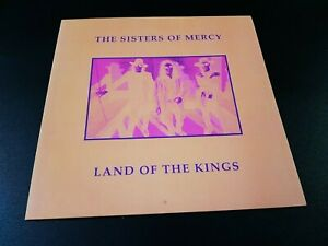 the Sisters Of Mercy - land of the kings -  lp' - coloured - 50 made