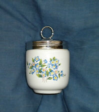 RARE KING EGG CODDLER,  NICE BLUE COLORS, SEVERNWARE COLLECTION ~LOVELY