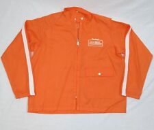 Vintage Hardee's Road Runner Racing Team TGIO Classic 1980 Jacket Orange Size L