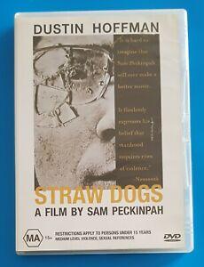Straw Dogs-The Classic movie, Dustin Hoffman. Region: 4 DVD