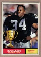 Bo Jackson '87 Oakland Raiders Monarch Corona Rookie All Star #17