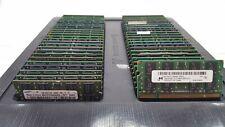 LOT 50 MICRON SAMSUNG HYNIX 2GB DDR2 PC2-6400S 800MHZ NON ECC LAPTOP MEMORY RAM