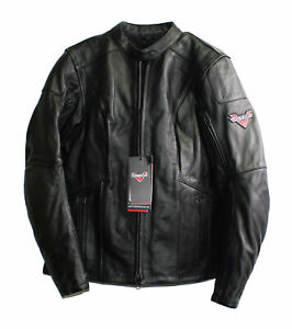Genuine Victory Women's Ignite Leather Motorcycle Jacket Size S 286629502