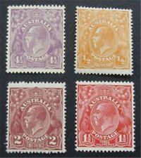nystamps British Australia Stamp # 66//74 MOGH  O22x1730