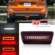 1x3-In-1 LED Fog Brake Reverse Backup Rear Light For Nissan X-trail Rogue Murano