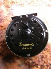 Vintage Browning Midas 4 Fly Fishing Reel Great Working Condition Ready to Fish!