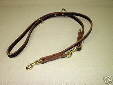 3/4 ALL IN ONE POLICE K-9 LEASH DOG TRAINING SCHUTZHUND YOU PICK THE COLOR LOOK