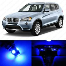 14 x Error Free Blue LED Interior Light Package For 2011-2014 BMW X3 Series F25