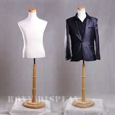 Male Mannequin Manequin Manikin Dress Body Form #33M01+Bs-R01N