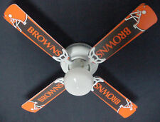 """New NFL CLEVELAND BROWNS Ceiling Fan 42"""""""