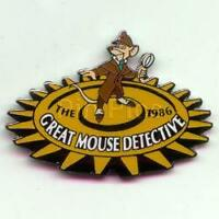 Disney DS Countdown to the Millennium Series #27 Great Mouse Detective  Pin
