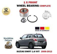 FOR SUZUKI SWIFT 1.6i SPORT VVT 7/2008->NEW FRONT WHEEL BEARING KIT *OE QUALITY*