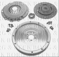 HKF1014 BORG & BECK SOLID FLYWHEEL KIT fits AUDI VW SKODA 1.9 TDi Diesel 2003-