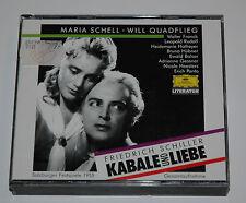 2 CD BOX/SCHILLER/KABALE DER LIEBE/SCHELL/QUADFLIEG/SALZBURGER FESTSPIELE/445761