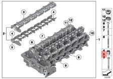 Genuine Engine Cylinder head Dowel x5 pcs BMW Hybrid X1 X3 X4 M X5 11127529404