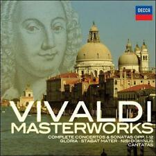 Vivaldi Masterworks [28 CD Box Set], New Music