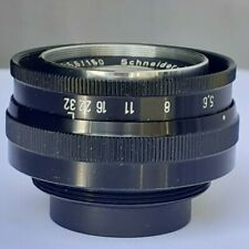 150mm enlarging Lens Schneider Comparon 150mm / f5.6. For 4x5in film format