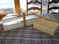 Soap Cutter Slab Splitter and 7 pound Slab mold Combo set