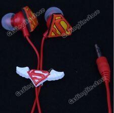 SUPERMAN EARPHONE,HEADSETS GREAT X-MAS GIFT IDEAS KIDS,BOYS & GIRLS B-Day Gifts