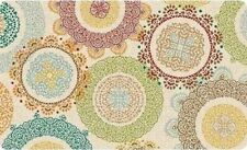 "ANTI-FATIGUE CUSHIONED COMFORT MAT(18"" x 30"") COLORFUL CIRCLES, LACE MEDALLION"