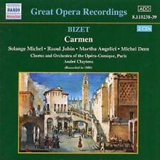 Georges Bizet : Carmen (Cluytens, Opera-comique Paris Chorus and Orchestra) CD