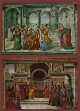 FIRENZE  Maria Novella GHIRLANDAIO ST ZACCARIA  Postcards  ART Italy QV.443