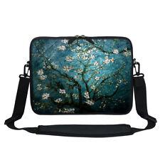 """13 13.3""""Laptop Computer Sleeve Case Bag w Hidden Handle & Shoulder Strap 3005"""