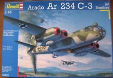 REVELL 04501 ARADO AR 234 c-3 JET BOMBER 1:48 NUOVO e SIGILLATO