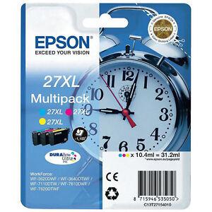 OriginaEpson C13T27154010 Druckerpatrone T 27 XL 3er Set T2715 XL Angebot Neu!!!