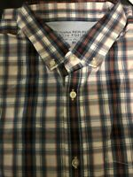 Banana Republic Slim Fit Short Sleeve Shirt men