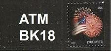 US 4871 Star-Spangled Banner forever single (1 stamp) ATM BK18 MNH 2014