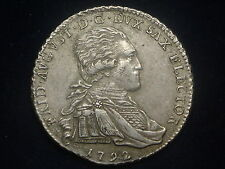 1/3 Taler Sachsen 1792 Friedrich August   W/15/180/A