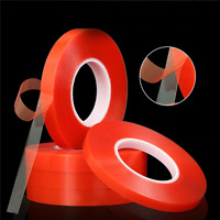 50M 2-10mm Adhesive Double Sided Tape Strong Sticky Tape Mobile Phone Repair