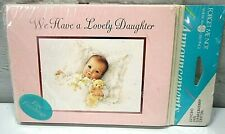 Vintage We Have a Lovely Daughter Birth Announcements 8 Cards-American Greetings