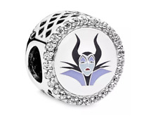 💎 New PANDORA x DISNEY Charm - Maleficent & Pouch S925 ALE