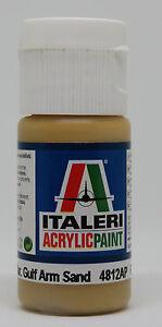 Acrylic Paint Flat US Army/ Mar. Gulf Arm Sand #4812AP Italeri Acrylic Paint