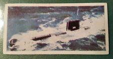 Lyons Tea card 25. HMS Oberon. Royal Navy Oberon class submarine.