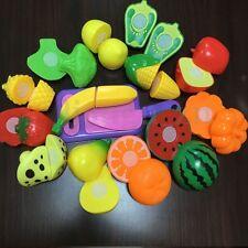 Enfants Jeux De Rôle Dinette Fruits Légumes à Découper Jouet de Cuisine Educatif