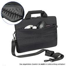 Ultrabook / Notebook Tasche schwarz 13,3 Zoll (33,8cm) Zubehörfach Schultergurt
