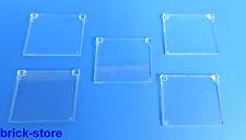 LEGO®  Fenster 1x4x3 Glas  /  transparent klar / 5 Stück