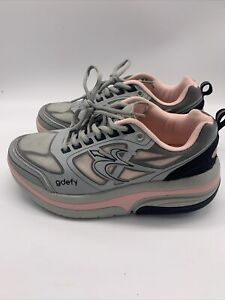 Gravity Defyer Gdefy Ion Womens Gray Pink Althletic Shoes Size 8.5 TB9022FGP-XW