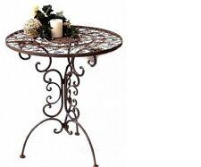 Tavolino ferro battuto h 75 cm Diametro 70 cm