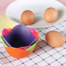 1 Cookare Silicone Egg Poacher Poaching Pods Pan Poached Cups Mould For Kitchen