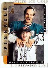 1996-97 Be A Player Auto #203 Dale Hawerchuk