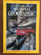 National Geographic November 1995 Oceans Tokyo Sperm Whales Basques Squirrels